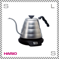 HARIO ハリオ V60 温度調節付きパワーケトル ヴォーノN 電気ケトル W300/D190/H185mm 800ml 細口ケトル ドリップケトル evt-80-hsv