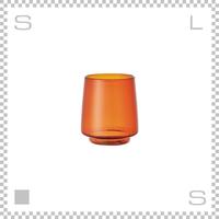 KINTO キントー SEPIA セピア タンブラー 370ml アンバー 耐熱ガラス製 Φ70/W80/H95mm