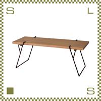 コーヒーテーブル Sサイズ W105/D43/H41.5cm ローテーブル 無垢材使用風 ブルックリンスタイル azu-nw171