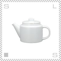 Common コモン ティーポット 500ml ホワイト W185/D100/H105mm 波佐見焼 日本製