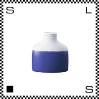 essence エッセンス ファミリーベース ブルー W10.5/D4.5/H11cm 花瓶 一輪挿し 波佐見焼 日本製