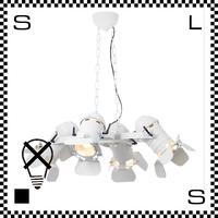 アートワークスタジオ Stage ステージペンダントライト 4灯モデル ホワイト 電球なし W880/H300mm スタジオライト風 スポットライト AW-0502Z-WH