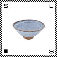 笠間焼 鈴木まるみ ライスボウル Sサイズ 枡花色 Φ12.5/H4.8cm(高台径:3.5cm) ハンドメイド 飯碗 茶碗 茶わん 日本製