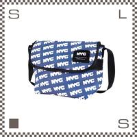 NYC ショルダーバッグ エヌワイシー ブルー W290/D120/H200mm ボディバッグ