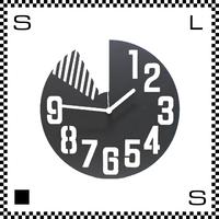 LOOP&LOOP Φ30cm フレームクロック ウォールクロック 壁掛け時計 スチール製 日本製