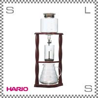 HARIO ハリオ ウォータードリッパー ウッド 2~6杯用 W205/D135/H475mm コールドブリューコーヒー 水出しコーヒー wdw-6
