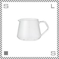 キントー SCS-02 スローコーヒースタイル コーヒーサーバー 300ml スクエアタイプ 耐熱ガラス製