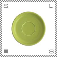 ORIGAMI オリガミ 14ozラテボウル用ソーサー グリーン Φ173mm カフェボウル用ソーサー日本製