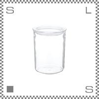 KINTO キントー CAST キャスト ガラスリッドキャニスター Lサイズ 深型 820ml 耐熱ガラス製  保存容器