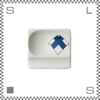 aiyu アイユー 重宝皿 長崎凧 山形 W8/D7.2/H1.3cm スクエアプレート 万能皿 箸置きスペースあり 波佐見焼 日本製