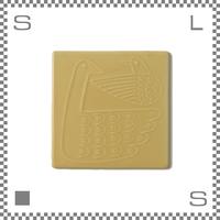 aiyu アイユー tile タイル nest ネスト ホワイト W10.5/D10.5/H0.3cm スクエアプレート 鍋敷き 波佐見焼 日本製