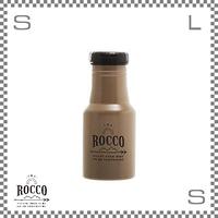 ROCCO ロッコ ワンタッチボトル 350ml モカ Φ73/H178mm ステンレスボトル 魔法瓶 水筒