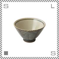 aiyu アイユー ORIME オリメ ヘリンボーン 茶碗 ブラウン Φ11/H6.5cm ライスボウル 波佐見焼 日本製