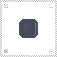SAKUZAN サクザン SARA サラ スクエアプレート Sサイズ ネイビー W110/D110/H13mm パステルカラー 日本製