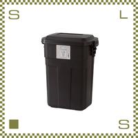 トラッシュカン 30L ブラウン W39/D27/H48.6cm ペール ごみ箱 ゴミ箱 azu-lfs934br