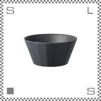 KINTO キントー アルフレスコ ボウル ブラック 直径160mm スープ皿 メラミン樹脂 バンブーファイバー使用