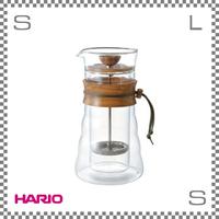 HARIO ハリオ ダブルグラスコーヒープレス 3杯用 W128/H224mm フレンチプレス  dgc-40-ov
