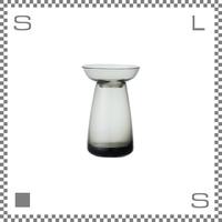 KINTO キントー アクアカルチャーベース Sサイズ グレー 花瓶 ガラス製