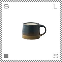 キントー SCS-S03 スローコーヒースタイル マグ 110ml ブラック ブラウン マグカップ ハンドペイント風