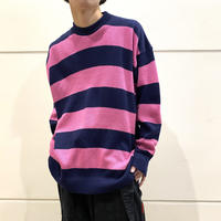 80s~ striped knit sweater