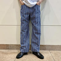 90s striped staright pants