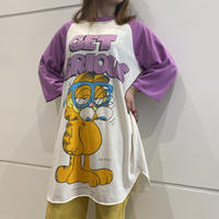 80s~ oversized raglan sleeve T-shirt