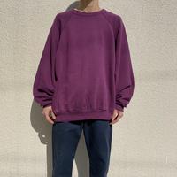 "90s  ""TULTEX"" oversized plain sweat shirt"