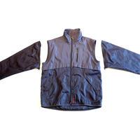 00s zip design nylon jacket