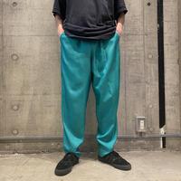 80s easy  slacks pants (GRN)