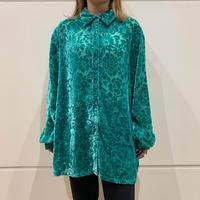 90s~ design see-through shirt