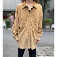oversized suede leather jacket