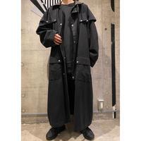 oversized design long coat