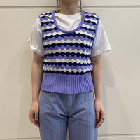 old striped knit tops