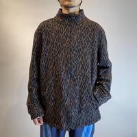 90s design zip up jacket