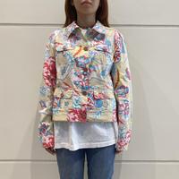 """ESCADA"" all patterned tracker jacket"