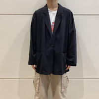 90s~ easy tailored jacket (BLK)