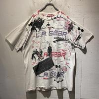 """old """"L.A.GEAR"""" full print T-shirt"""