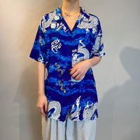 80s s/s rayon shirt