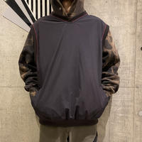 oversized nylon vest