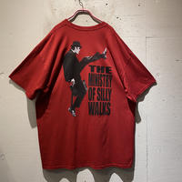 """00s """"THE MINISTRY OF SILLY WALKS"""" printed tee"""