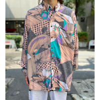 80s〜 all pattern rayon shirt