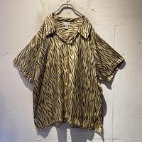 oversized silk S/S shirt