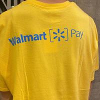 """ Walmart "" print T-shirt"