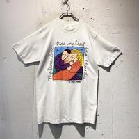 """90s """"GANGO GALLERY"""" art printed tee"""