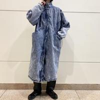 80s〜chemical denim long coat