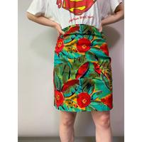 90年代 花柄スカート