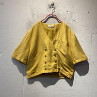 short length S/S tailored jacket
