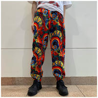 90s poly design pants