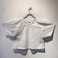 short length mesh T-shirt