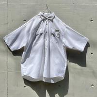 """""""Columbia"""" PFG S/S shirt(WHT)"""